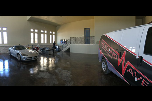 Castle Show Garage