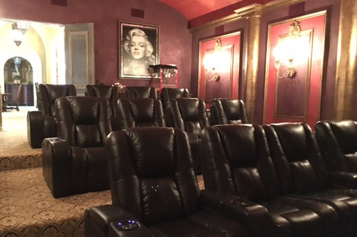 Castle Home Theatre Room