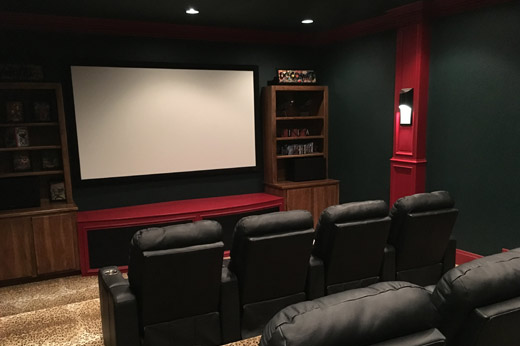 Stylish Home Theatre